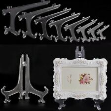 1 pcs Plate Stands Photo Display Easel Stand Picture Frame Pedestal Holders Pack