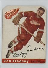 1954-55 Topps #51 Ted Lindsay Detroit Red Wings Hockey Card