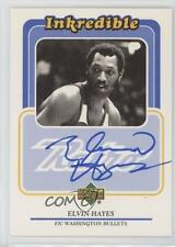 1999 Upper Deck Retro Inkredible Autographed EH Elvin Hayes Auto Basketball Card