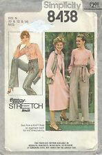 Simplicity 8438 Misses' Blouse, Skirt, Pants, Vest and Sash   Sewing Pattern