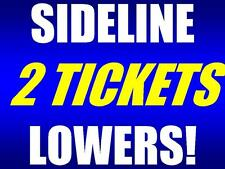 2 tickets TCU Horned Frogs Jackson State Tigers 9/2