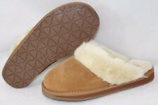 NEW Womens MINNETONKA Twyla Traditional Scuff Suede Slippers Scuffs Shoes