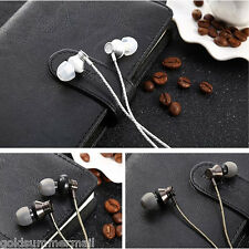 JUSTNEED M3 Stereo Super Bass Wired In-ear Earphones Headphones 1.2m Cable