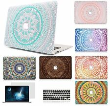 "Hard Case Shell Keyboard Cover Skin LCD Film For Macbook Pro 13/15"" Air 11/13""LS"