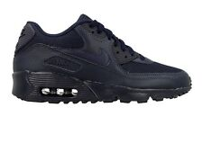 NIKE AIR MAX 90 OBSIDIAN NAVY TRAINERS UNISEX WOMENS BOYS GIRLS 95 97 4 5 5.5 6