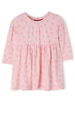 NEW Sprout Long Sleeve Dress Lt Pink