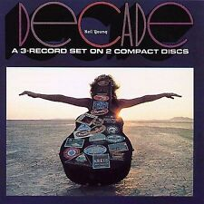 """Neil Young """"Decade"""" w Southern Man, Ohio, Old Man, Heart of Gold, Harvest & more"""