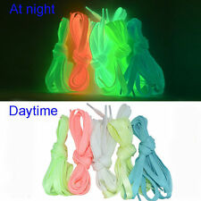 39'' Luminous Glow In The Dark Shoelace Athletic Sport Boots Shoe Laces Strings