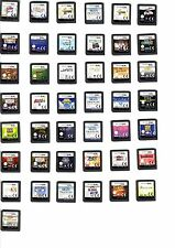 """"""" Original """" Nintendo Ds NDs Game ( Cartridge Only ) Choose Title From Drop Down"""