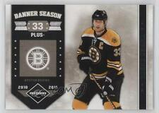 2011-12 Limited Banner Season #18 Zdeno Chara Boston Bruins Hockey Card