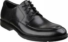 Rockport CITY SMART ALGONQUIN Mens Smart Casual Office Leather Lace Shoes Black