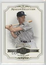 2012 Topps Museum Collection #42 Mickey Mantle New York Yankees Baseball Card