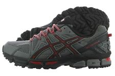 Asics Gel-Kahana 8 T6L0N-9690 Shark Black Mesh Running Trail Shoes Medium Men