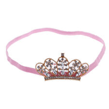 Kids Baby Girl Birthday Party Gift Headband Crown Hairband Strench Head Wrap