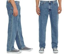 Levis Mens 550 Relaxed Jeans Classic Tapered Stonewashed Big Tall size 52 NEW