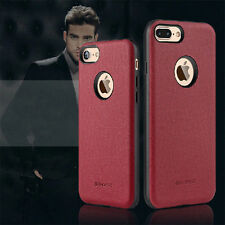 G-Case Ostrich Grain Leather With Magnetic Back Case Cover For iPhone 7/7 Plus
