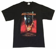 Army Of Darkness Trapped In Time Low On Gas Black T Shirt New Official Movie