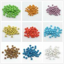 50pcs 10mm Crystal Rhinestone Pave Clay Disco Ball Spacer Bracelet Beads DIY