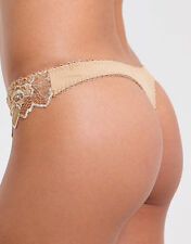 BNWT Lepel Fiore Lace Thong Nude - various sizes -  REDUCED PRICE