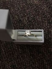9ct Gold Engagement Ring - 2ct Solitaire Diamond