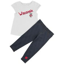 University of Wisconsin Badgers Girls' Tee Shirt and Jeggings Set