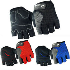Cycling Half Finger Bike Gloves Sports MTB Breathable Terry Cloth Bicycle Gloves