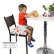 Portable Baby High Chair Travel Booster Seat Pad with Cover For Toddler Kids