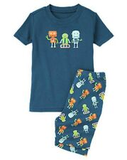 GYMBOREE BOYS ROBOT BUDDIES SHORTIE 2 PIECE PAJAMAS 18-24m 2T NWT