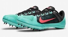 Nike Womens Track Spike Nike Zoom Rival MD 7 615982-306 Turquoise - Size 9 - NEW