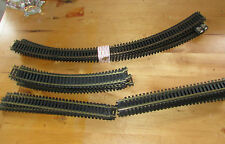 HO Scale Racing Tracks 28 Pieces of Track Curved / Straight sections. Brass.