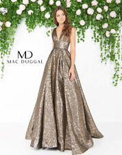 Mac Duggal 66217D Long Evening Dress ~LOWEST PRICE GUARANTEE~ NEW Authentic Gown