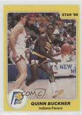 1985-86 Star #82 Quinn Buckner Indiana Pacers Basketball Card