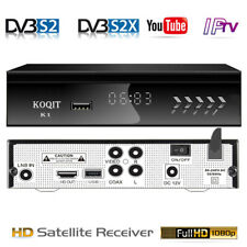 N/S America TV Tuner HD DVB-S2 Digital Satellite Receiver Wifi CS + IPTV Youtube