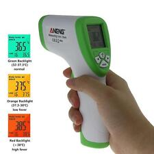 Baby Digital IR Infrared Body Thermometer Non-Contact Laser Temperature Gun LCD