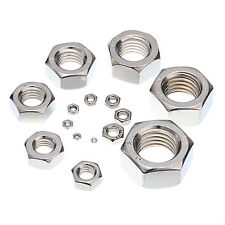 Hot Sale A2 Stainless Steel Hex Nuts To Fit Our Bolts and Screws QTY Choose New