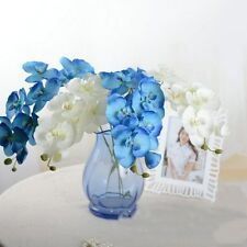 1Pcs Silk Real Touch Phalaenopsis Home Decor Orchid Artificial Home Office Decor