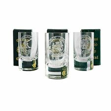 Collins Crystal Clan Shot Glasses - Various Clan Names