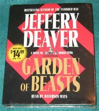 JEFFERY DEAVER, Garden of Beasts, 5 CDs, ABRIDGED, NEW