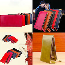 Long Ladies Purse Coins  Fashion Leather Clutch Money Bag Hasp  Women Wallets