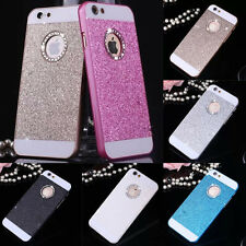 1pc Bling Glitter Crystal Hard Back Phone Case Cover For iPhone 4s 5s 6+Plus SE