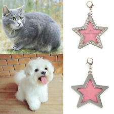 Pet Puppy Cat Dog ID Tag Personalized Name Tags Nameplate Frame Necklace Pendant