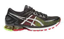 ASICS New Men's GEL-KINSEI 6 Road Running Shoes Black Silver - Authentic
