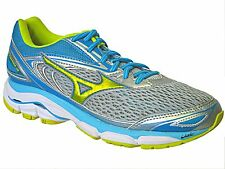 Mizuno Wave Inspire 13 womens turquoise & gray lace up running sneakers Size 7.5