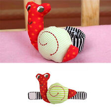 Snails caterpillar Wrist Toys Infant rattle Baby Rattle Hand Rattles Toys