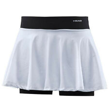 Head Performance Womens Skort Woven Knit Tennis Sports White 814136 WH UA65