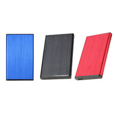 """2.5"""" IDE to USB 2.0 Tool-free External Hard Drive Enclosure SSD/HDD For PC"""
