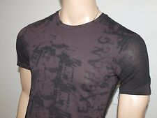Armani Exchange Authentic City Lights Logo T shirt After Dark NWT