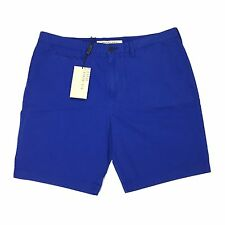 NWT $195 Burberry Brit Men's Lapis Blue Cotton Shorts Pants 32 34 36 AUTHENTIC