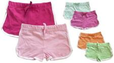 Girls PACK OF 2 Twin Pack Bright Running Hot Pant Fashion Shorts 2 to 10 Years