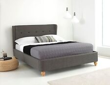LAMIA 4FT6 (DOUBLE) & 5FT (KING SIZE) FABRIC BED